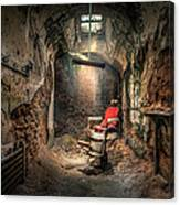 The Barber's Chair -the Demon Barber Canvas Print