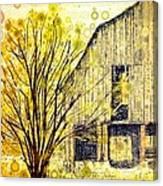 The Barn Where... Canvas Print