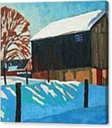 The Barnyard Canvas Print