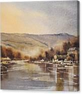 The Barrow At Saint Mullins Canvas Print