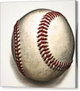 The Baseball Canvas Print