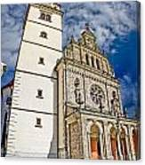 The Basilica In Mary Of Bistrica Canvas Print
