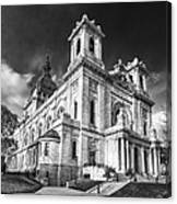 The Basilica Of St Mary Canvas Print