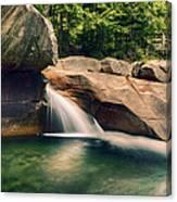 The Basin At Franconia Notch State Park Nh Canvas Print