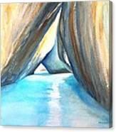 The Baths Azul Canvas Print