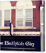 The Bathtub Gin Canvas Print