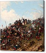 The Battle Of Trevino Canvas Print