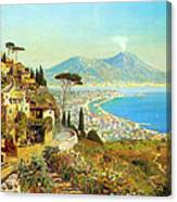 The Bay Of Naples Canvas Print