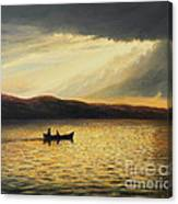 The Bay Of Silence Canvas Print