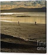 The Beach At Mounts Bay Canvas Print