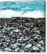 The Beach Of Rocks Canvas Print