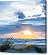 The Beach Part 4 Canvas Print