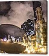 The Bean In Chicago  Canvas Print