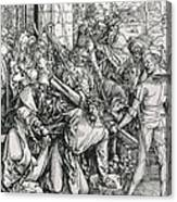 The Bearing Of The Cross From The 'great Passion' Series Canvas Print