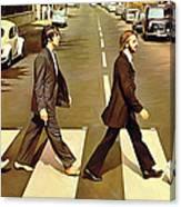 The Beatles Abbey Road Artwork Canvas Print
