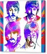 The Beatles Art Canvas Print