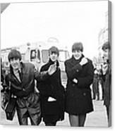 The Beatles in Dublin Canvas Print