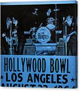 The Beatles Live At The Hollywood Bowl Canvas Print