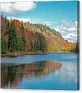 The Beautiful Bald Mountain Pond Canvas Print