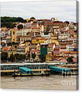 The Beautiful Colors Of Lisbon Canvas Print