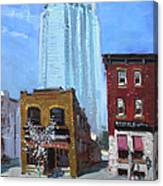 The Beauty N' The Background In London Canada Canvas Print
