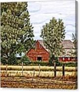 The Beauty Of A Farm Canvas Print