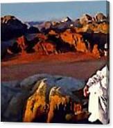 The Bedouin Canvas Print