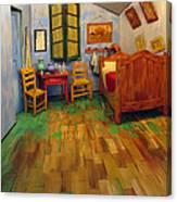 The Bedroom Of Van Gogh At Arles Canvas Print