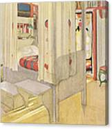 The Bedroom, Published In Lasst Licht Canvas Print