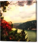 The Beginning Of Autumn Canvas Print
