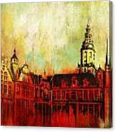 The Belfries Of Belgium And France  Canvas Print