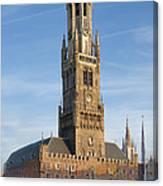 The Belfry Of Bruges Canvas Print