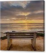 The Bench Iv Canvas Print