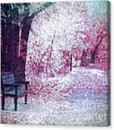 The Bench Of Promises Canvas Print