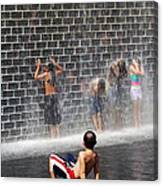 The Best Little Water Park In Chicago Canvas Print