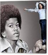 The Best Of Me - Handle With Care - Michael Jacksons Canvas Print
