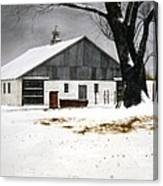 The Big Barn Canvas Print