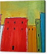 The Big City Canvas Print