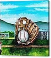 The Big Leagues Canvas Print