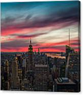 The Big Red Apple Canvas Print