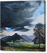 The Big Storm Canvas Print