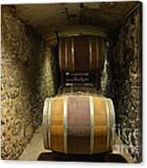The Biltmore Estate Wine Barrels Canvas Print