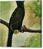 The Bird Canvas Print