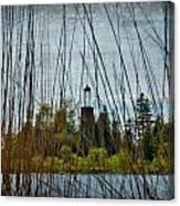 The Birdcage Lighthouse Of Baileys Harbor Paint  Canvas Print