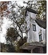 The Birdhouse Kingdom - Mountain Chickadee Canvas Print
