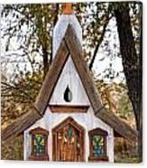 The Birdhouse Kingdom - Steller's Jay Canvas Print