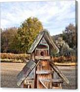 The Birdhouse Kingdom - The American Dipper Canvas Print
