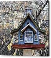 The Birdhouse Kingdom - The Cordilleran Flycatcher Canvas Print