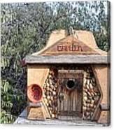 The Birdhouse Kingdom - The Evening Grosbeak Canvas Print