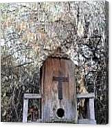 The Birdhouse Kingdom - The Olive-sided Flycatcher Canvas Print